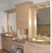 Custom Bathroom Countertops Fascinating Custom Bathroom Cabinets Charles R Bailey Cabinetmakers