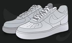 nike shoes drawings. pin drawn shoe nike air force 1 #11 shoes drawings