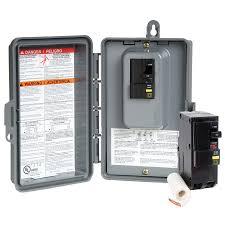square d 50 amp non fusible non metallic spa