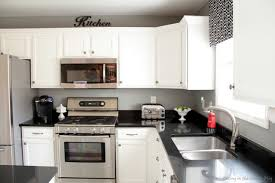 Innovative Amazing Paint Kitchen Cabinets White Black And White Kitchen  Remodel With Painted Cabinets