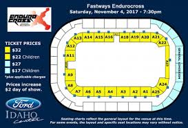 Seating Chart Ford Idaho Center Events Endurocross Ford Idaho Center