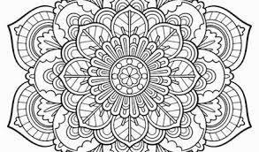 Mandala coloring pages are great for kids! Printable Coloring Pages Free Mandala Paisley For Adults Easy Kids Thespacebetweenfeaturefilm