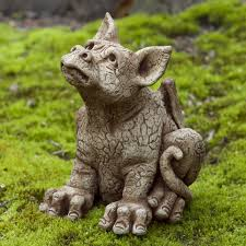 dragon garden statues. Campania International Paws The Dragon Cast Stone Garden Statue | Hayneedle Statues