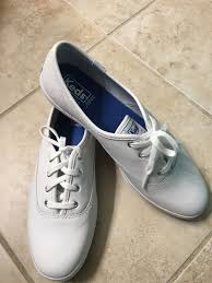 keds champion leather sz 8 5 bnew