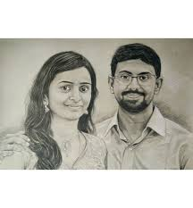 Pencil Sketches Of Couples Real Pencil Drawing Couple