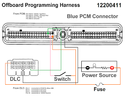 building a benchtop pcm tuning harness Gm Ecm Wiring Diagram Schematic 91 S10 Fuse Box Diagram