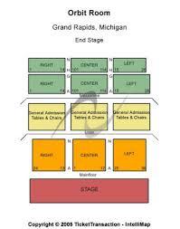 Orbit Room Grand Rapids Mi Seating Chart Orbit Room Tickets And Orbit Room Seating Chart Buy Orbit