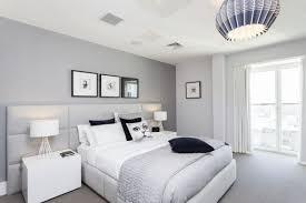 most fabulous grey and white bedroom