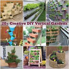 Small Picture 20 Creative DIY Vertical Gardens For Your Home