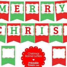 Merry Christmas Banner Print Merry Christmas Banner Free Printable Christmas Printables