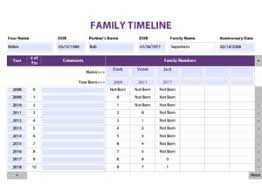 Time Line Forms Photo Organizing Forms Photos With Sherita Tell Your