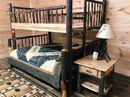 Rustic Full over Queen Bunk Bed - Mountain Top Furniture