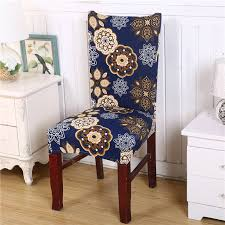 removable dining chair cover protector seat covering hotel ceremony dining room decor