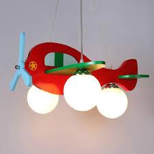 kids pendant lighting. aliexpresscom buy children model plane bedroom pendant lamps glass lampshade kids lights fixtures e27 led hanglamp fibreboard lighting 110v 220v from m