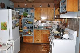 Ranch House Kitchen 50s Ranch House Country Kitchen A Homespun