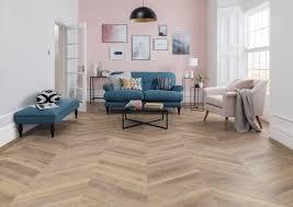 vinyl flooring in a living room
