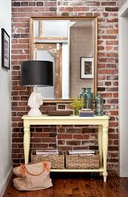 exposed brick wall ideas mirrors are perfect to reflect all these gorgeous textures