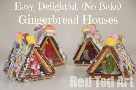 simple gingerbread houses for kids.  Simple No Bake Gingerbread Houses Ideas This Mini House Not Only Are  Super Duper Cute Intended Simple For Kids