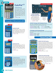 2019 Fall Calculator Supplement Pages 1 12 Text Version