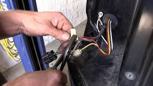 installation of a trailer wiring harness on a 2000 mitsubishi montero sport etrailer com you