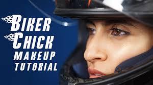 biker how to create the rock makeup look