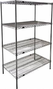 4 shelf wire shelving unit