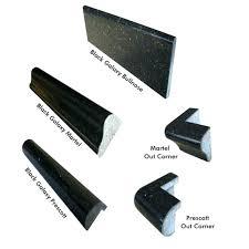 granite bullnose tile black galaxy trim edges granite tile edge edging granite tile countertops granite tile countertop bullnose edge