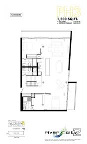 Ph Towers 2 Bedroom Suite River City Phase 2 In Toronto On Prices Floor Plans