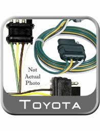 trailer wiring harness toyota tundra wiring diagram schematics 2007 2011 toyota tundra trailer wiring harness from