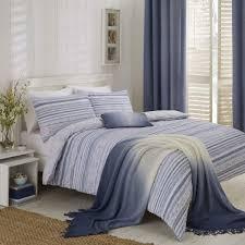 60 off hadlow seerer stripe duvet cover set blue