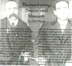 sacco and vanzetti essay sacco and vanzetti evidence