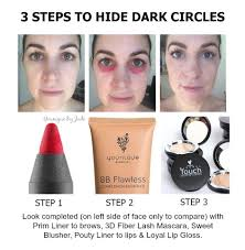 hide dark circles the younique way