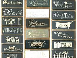 rustic bathroom signs hanging rustic bathroom signs hobby lobby