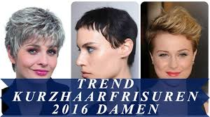 Trend Kurzhaarfrisuren 2016 Damen Youtube 2016 Kurzhaarfrisuren