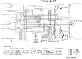 ct110 wiring diagram wiring diagrams wiring diagram resides under here honda ct110 issues now added clutch shenanigans