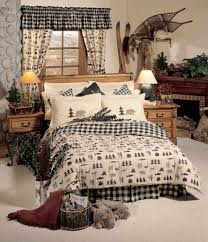 northern exposure comforter sets rustic cabin bedding
