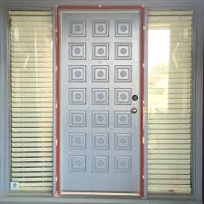 this is what i started with minus the glass storm door that we removed prior to moving in five children and a heavy glass door that snapped closed was