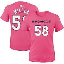 Pink Denver Denver Broncos Jersey Pink