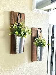 metal wall planters metal wall planters 3 pocket galvanized or rustic metal indoor outdoor wall planter 3 pocket metal garden wall planters