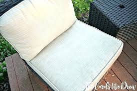 how to clean outdoor fabric cushions furniture cleaning patio