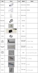 sliding glass cabinet door hardware. Laudable Sliding Glass Door Cabinet Shower Room Aluminium Hardware Buy I