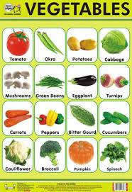 Vegetables Chart Vegetables Chart Quixot Multimedia Pvt Ltd Khasra No