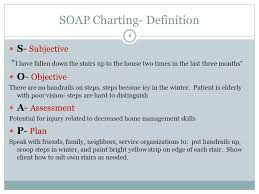 Soap Charting Format 1 Soap Charting Objectives 2 At The Conclusion Of This