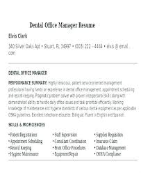 Front Desk Manager Resume Foodcity Me