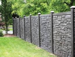 Delighful Vinyl Privacy Fence Ideas Simtek And Design