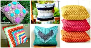 Pillow Patterns Cool 48 Free Crochet Pillow Patterns For Decorating Your Home DIY Crafts