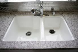 sinks awesome undermount cast iron sink cas on ceramic home with depot kitchen inspirations 32