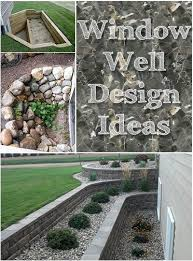 Basement window well ideas Egress Window Window Well Design Ideas Want To Do This Brick Step Planter But Perpendicular To Our Exposed Basement Our Hill Would Just Turn This Into Waterfall Directmarketingmbacom Window Well Design Ideas Creative Ways To Dress Up Your Window