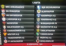 """Beyaz Futbol a Twitter: """"Süper Lig'de 2020/2021 sezonu fikstür çekimi  yapıldı. İşte ilk hafta maçları #superlig #fikstur… """""""
