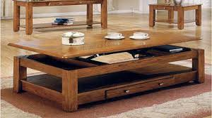 Retractable Coffee Table Furniture Best Transforming Space Saving Coffee Table Converts To